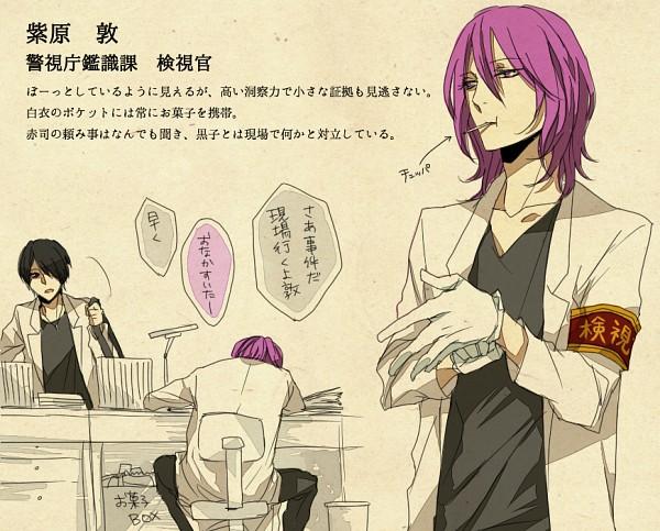 Tags: Anime, Namikawa (Pixiv1039631), Kuroko no Basuke, Himuro Tatsuya, Murasakibara Atsushi, Translation Request, Pixiv