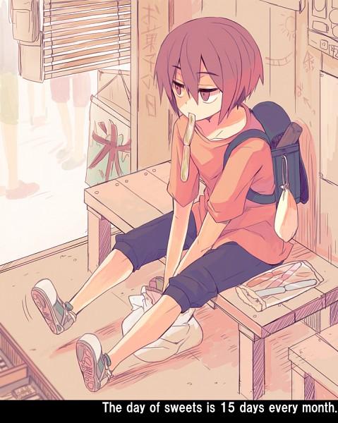 Tags: Anime, Yuzuki Gao, Kuroko no Basuke, Murasakibara Atsushi, Fanart From Pixiv, Pixiv, Fanart