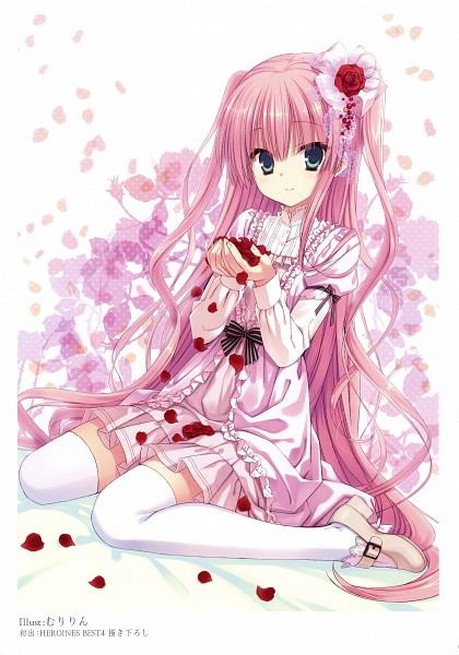 Tags: Anime, Muririn, K-books Heroines Best 4, Mobile Wallpaper, Scan