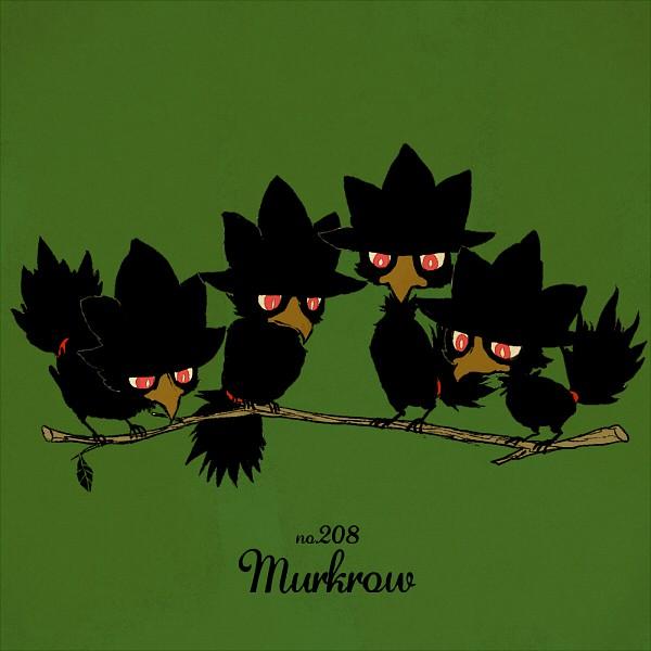 Murkrow - Pokémon