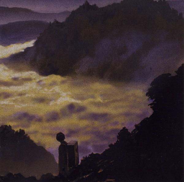 Tags: Anime, Urushibara Yuki, Mushishi, Ginko (Mushishi), Fog, Scan, Official Art