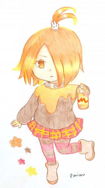 Tags: Anime, Pixiv Id 2404804, Cookie Run: OvenBreak, Cookie Run, Mustard Cookie, Spray Can, Fanart From Pixiv, Traditional Media, Pixiv, Fanart