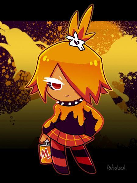 Tags: Anime, Darkerload, Cookie Run: OvenBreak, Cookie Run, Mustard Cookie, Spray Can, Fanart From Pixiv, Pixiv, Fanart