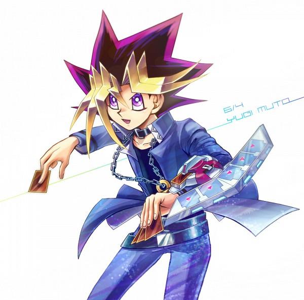 Tags: Anime, Yiyiyi, Yu-Gi-Oh! Duel Monsters, Yu-Gi-Oh!, Mutou Yuugi, >:D, Chain Necklace, Fanart From Pixiv, Pixiv, Fanart