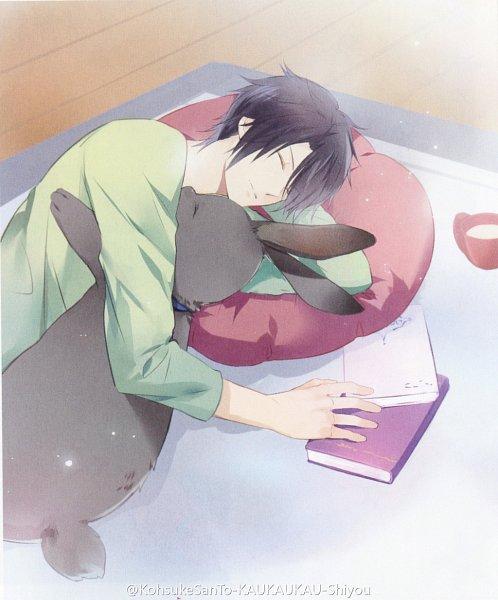 Tags: Anime, Tsukiuta, Mutsuki Hajime, Kuroda (Black Rabbit)