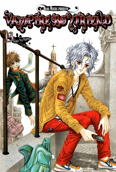 Tags: Anime, My Boyfriend Is A Vampire, Scan, Official Art, Manga Cover