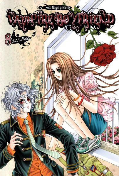 Tags: Anime, Han Yu Rang, My Boyfriend Is A Vampire, Manga Cover, Scan, Official Art