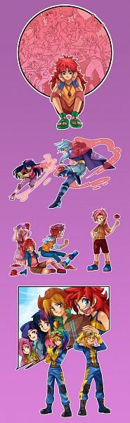Tags: Anime, My Little Pony, Twilight Sparkle, Apple Bloom, Rarity, Lightning Dust, Rainbow Dash, Babs Seed, Scootaloo, Pinkie Pie, Trixie Lulamoon, Applejack, Sweetie Belle