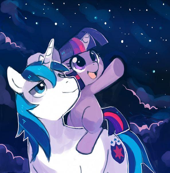 Tags: Anime, suikuzu, My Little Pony, Twilight Sparkle, Shining Armor, Cutie Mark, Fanart, Tumblr