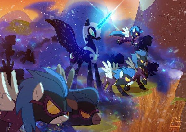 Tags: Anime, Light262, My Little Pony, Princess Luna, Nightmare Moon, Pegasus, Alicorn, deviantART, Fanart From DeviantART, Fanart