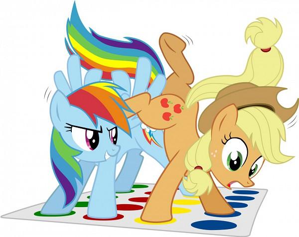 Tags: Anime, Blackgryph0n, My Little Pony, Rainbow Dash, Applejack, Twister, Cutie Mark, Fanart From DeviantART, deviantART, Fanart