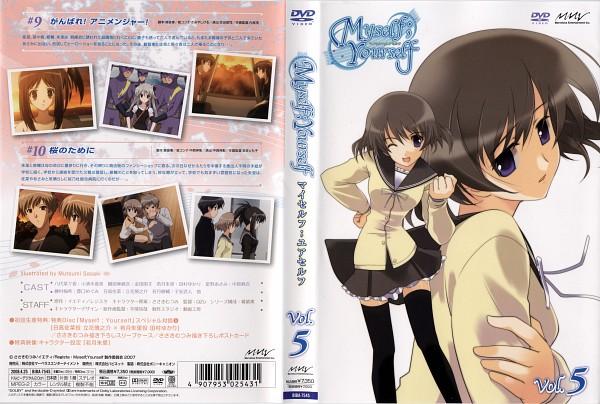 Tags: Anime, Myself; Yourself, Wakatsuki Shuusuke, Mochida Hinako, Hoshino Asami, Yatsushiro Nanaka, Hidaka Sana, Wakatsuki Shuuri