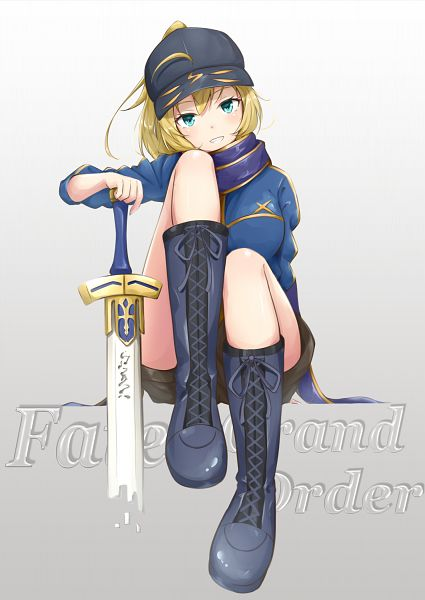 Tags: Anime, Pixiv Id 3580504, Fate/Grand Order, Mysterious Heroine X, Saber (Fate/stay night)