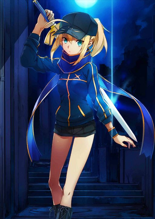 Mysterious Heroine X - Saber (Fate/stay night)