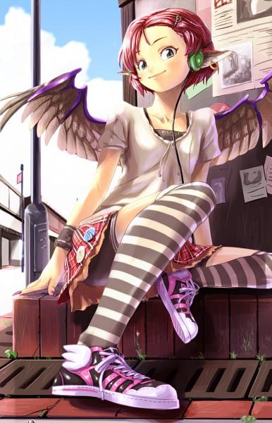 Tags: Anime, Shiba Itsuki, Touhou, Mystia Lorelei