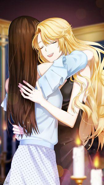 Tags: Anime, Cheritz, Mystic Messenger, Rika (Mystic Messenger), Protagonist (Mystic Messenger), Official Art, CG Art