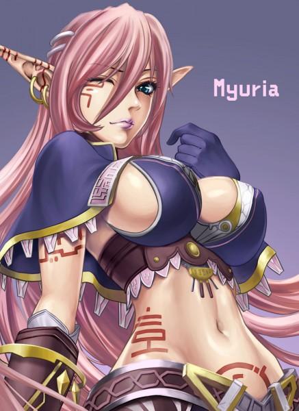 Tags: Anime, Star Ocean: The Last Hope, Myuria Tionysus