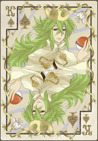 Tags: Anime, Pokémon, N (Pokémon), Mobile Wallpaper