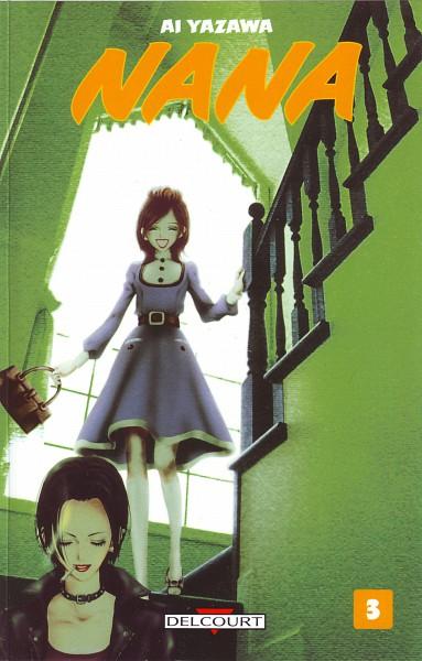 Tags: Anime, Yazawa Ai, NANA (Series), Komatsu Nana, Osaki Nana, Manga Cover, Official Art, Scan
