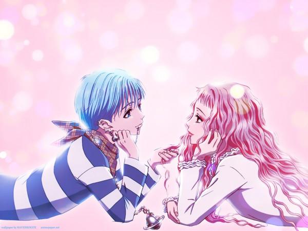 Tags: Anime, Yazawa Ai, NANA (Series), Serizawa Reira, Okazaki Shinichi, Wallpaper