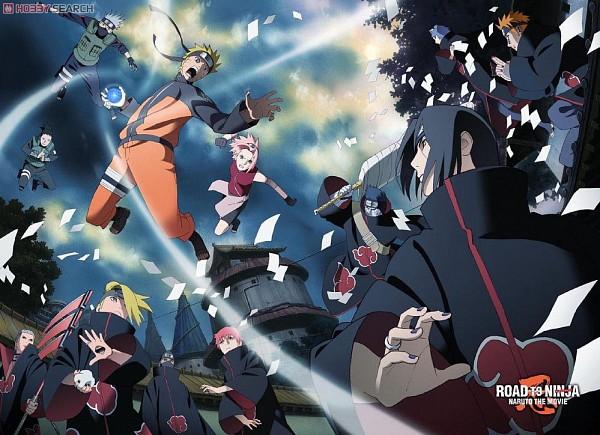 Tags: Anime, Studio Pierrot, Naruto the Movie: Road to Ninja, NARUTO, NARUTO: SHIPPŪDEN, Uzumaki Naruto, Hoshigaki Kisame, Sasori, Haruno Sakura, Kakuzu, Deidara, Konan, Nara Shikamaru