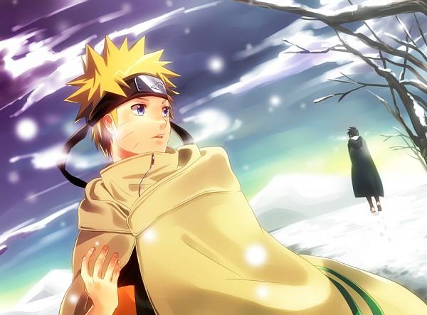 Tags: Anime, Fujishima Akira, NARUTO: SHIPPŪDEN, NARUTO, Uchiha Sasuke, Uzumaki Naruto, Fanart, Pixiv, Jinchuuriki