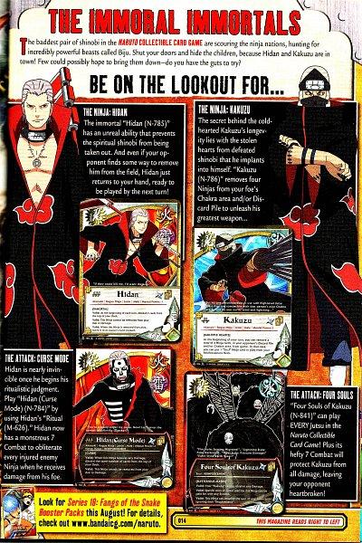 Tags: Anime, NARUTO: SHIPPŪDEN, NARUTO, Card Game, Magazine (Source), Self Scanned, Scan