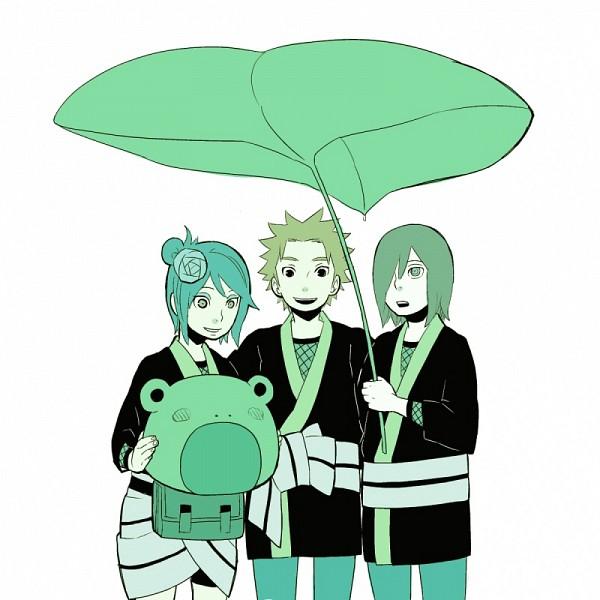 Tags: Anime, Pixiv Id 2714737, NARUTO, Yahiko, Konan, Nagato (NARUTO), Leaf Umbrella, Pixiv, Akatsuki (NARUTO)