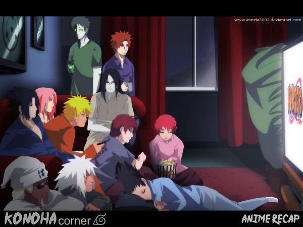 Tags: Anime, Annria2002, NARUTO, Gaara, Killer Bee, Uchiha Sasuke, Orochimaru, Uzumaki Naruto, Pein, Sasori, Haruno Sakura, Jiraiya (NARUTO), Nara Shikamaru