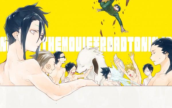 Tags: Anime, Kunkun (Ysg), Naruto the Movie: Road to Ninja, NARUTO, Aburame Shino, Rock Lee, Inuzuka Kiba, Sai, Hyuuga Neji, Uchiha Sasuke, Akamaru (NARUTO), Nara Shikamaru, Uzumaki Naruto