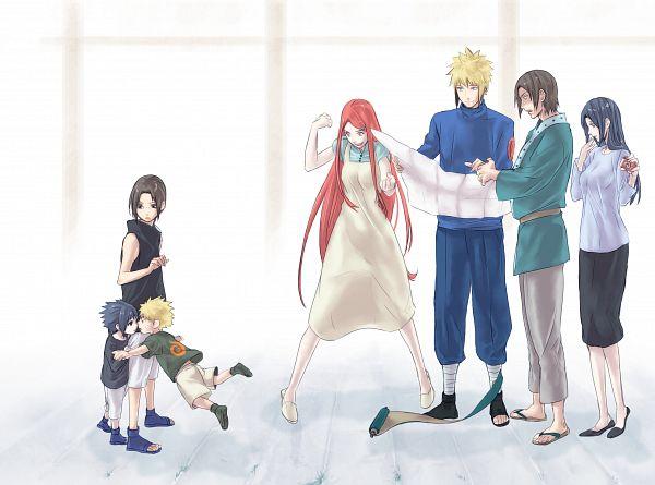 Tags: Anime, Miyabi310, NARUTO, Namikaze Minato, Uzumaki Kushina, Uchiha Fugaku, Uchiha Itachi, Uchiha Mikoto, Uchiha Sasuke, Uzumaki Naruto, Yaoi Fan, Pounce, Wallpaper