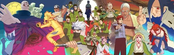 Tags: Anime, Pixiv Id 4960818, NARUTO, Hatake Kakashi, Kankurou, A (NARUTO), Tsunade, Uchiha Madara, Sai, Yakushi Kabuto, Tobi, Temari (NARUTO), Akamaru (NARUTO)