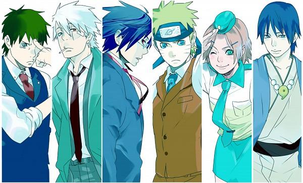 Tags: Anime, Pixiv Id 2346005, NARUTO, Uzumaki Naruto, Haruno Sakura, Hatake Kakashi, Sai, Yamato (NARUTO), Uchiha Sasuke, Naruhodou Ryuuichi (Cosplay), Odoroki Housuke (Cosplay), Gyakuten Saiban (Parody), Pixiv