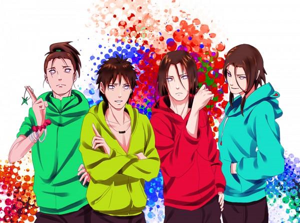 Tags: Anime, Pixiv Id 2633255, NARUTO, Hyuuga Hoheto, Hyuuga Tokuma, Hyuuga Ko, Hyuuga Takuma, Pixiv, Fanart, Hyuuga Family