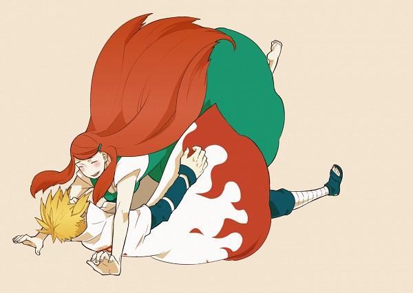 Tags: Anime, Pixiv Id 2714737, NARUTO, Namikaze Minato, Uzumaki Kushina, Pixiv, Fanart From Pixiv, Fanart, MinaKushi