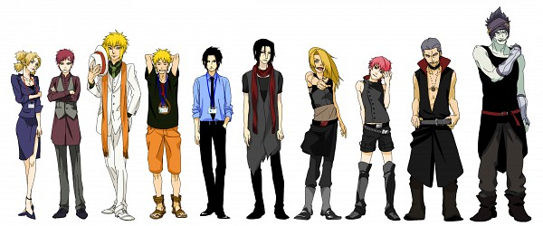 Tags: Anime, Pixiv Id 54096, NARUTO, Temari (NARUTO), Uzumaki Naruto, Hoshigaki Kisame, Sasori, Namikaze Minato, Deidara, Uchiha Itachi, Gaara, Hidan, Uchiha Sasuke