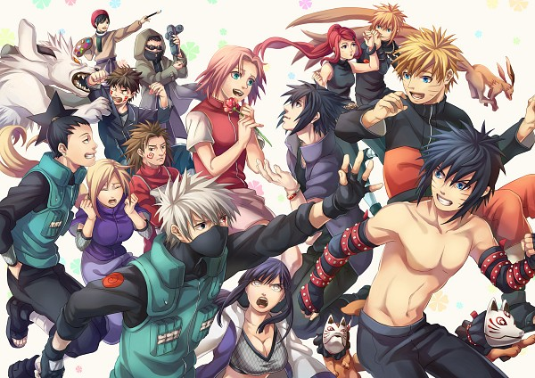 Tags: Anime, Eno (Kdex), Naruto the Movie: Road to Ninja, NARUTO, Uzumaki Naruto, Namikaze Minato, Hyuuga Hinata, Akimichi Chouji, Haruno Sakura, Uzumaki Kushina, Hatake Kakashi, Yamanaka Ino, Inuzuka Kiba