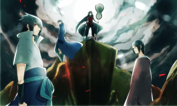 Tags: Anime, HAKUMA (poulain), NARUTO, Uchiha Sasuke, Uchiha Obito, Uchiha Madara, Uchiha Itachi, Wallpaper, Uchiha Brothers, Uchiha Clan