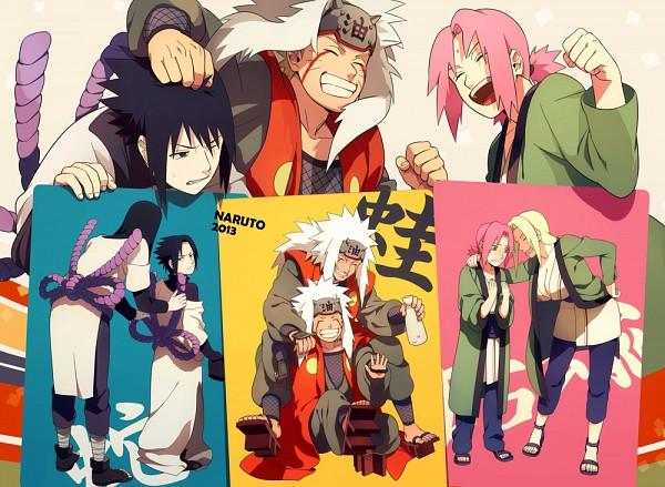 Tags: Anime, Min Tosu, NARUTO, Tsunade, Haruno Sakura, Orochimaru, Uchiha Sasuke, Jiraiya (NARUTO), Uzumaki Naruto, Orochimaru (Cosplay), Jiraiya (NARUTO) (Cosplay), Tsunade (Cosplay), Fanart From Pixiv