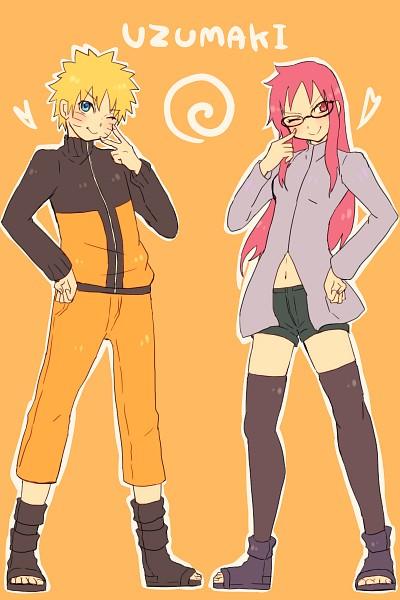 Tags: Anime, Pixiv Id 4519096, NARUTO, Karin (NARUTO), Uzumaki Naruto, Mobile Wallpaper, Jinchuuriki, Uzumaki Clan