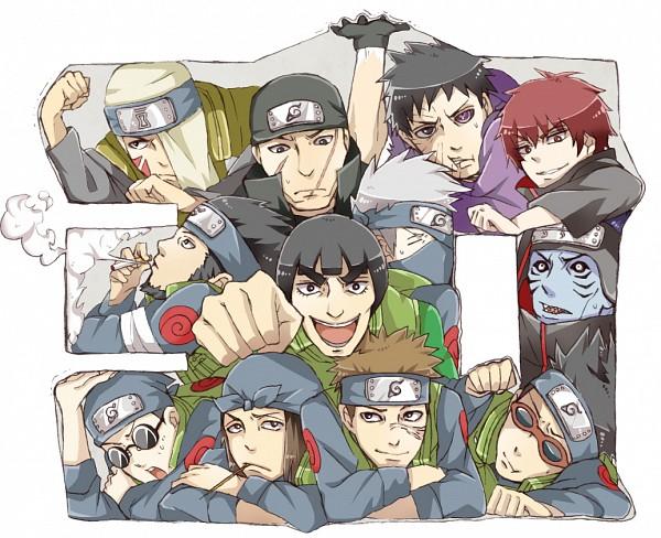 Tags: Anime, Pixiv Id 10564342, NARUTO, Uchiha Obito, Sasori, Namiashi Raidou, Hoshigaki Kisame, Hatake Kakashi, Shiranui Genma, Might Guy, Baki, Sarutobi Asuma, Ebisu