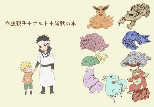 Tags: Anime, Sakuraba Chizuru, NARUTO, Yonbi, Otsutsuki Asura, Hachibi, Sanbi no Kyodaigame, Nanabi, Nibi no Bakeneko, Rokubi, Shukaku, Uzumaki Naruto, Gobi