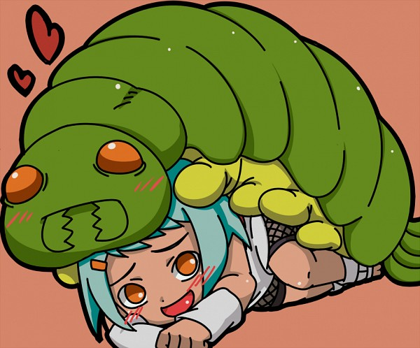 Tags: Anime, Pixiv Id 258364, NARUTO, Nanabi, Fuu (NARUTO), Insect On Head, Fanart From Pixiv, Fanart, Pixiv