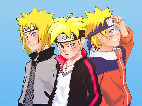 Tags: Anime, Pixiv Id 2984132, BORUTO, NARUTO, Uzumaki Boruto, Namikaze Minato, Uzumaki Naruto, Grandfather And Grandson, Grandfather, Characteristic Connection, Wallpaper, Uzumaki Family