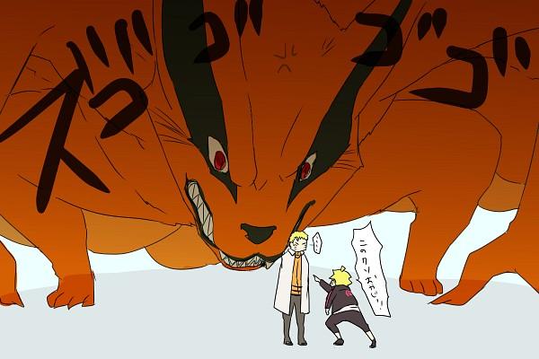 Tags: Anime, Pixiv Id 4519096, BORUTO, NARUTO, Uzumaki Naruto, Uzumaki Boruto, Kyuubi (NARUTO), 1200x800 Wallpaper, Fanart From Pixiv, Pixiv, Translation Request, Wallpaper, PNG Conversion