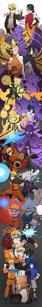 Tags: Anime, Liuruoyu8888, NARUTO, Uchiha Sarada, Uzumaki Naruto, Uzumaki Boruto, Uchiha Sasuke, Fanart From Pixiv, Fanart, Pixiv