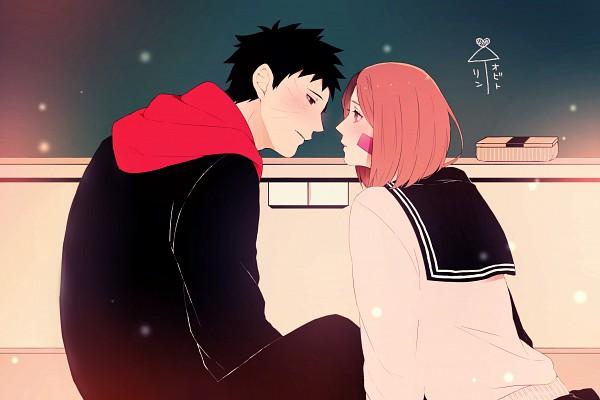 Tags: Anime, Pixiv Id 8088802, NARUTO, Uchiha Obito, Nohara Rin, Pixiv, Fanart From Pixiv, Fanart, ObiRin
