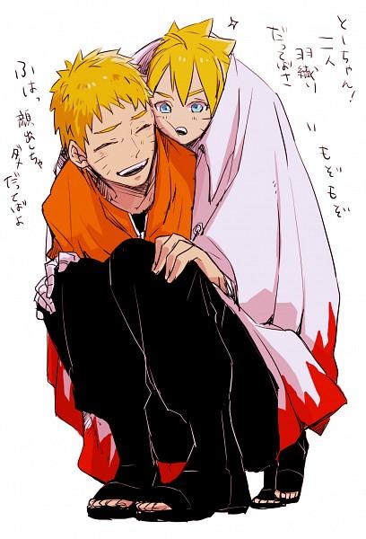 Tags: Anime, Pixiv Id 2633740, BORUTO: Naruto Next Generations, NARUTO, Uzumaki Naruto, Uzumaki Boruto, Fanart, Fanart From Pixiv, Mobile Wallpaper, Pixiv
