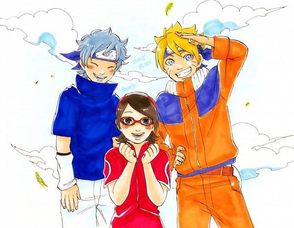 Tags: Anime, Pixiv Id 1745505, BORUTO, NARUTO, Uzumaki Boruto, Uchiha Sarada, Mitsuki (NARUTO), Uchiha Sasuke (Cosplay), Haruno Sakura (Cosplay), Uzumaki Naruto (Cosplay), Fanart, Fanart From Pixiv, PNG Conversion