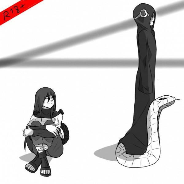 Tags: Anime, NARUTO, Yakushi Kabuto, Orochimaru